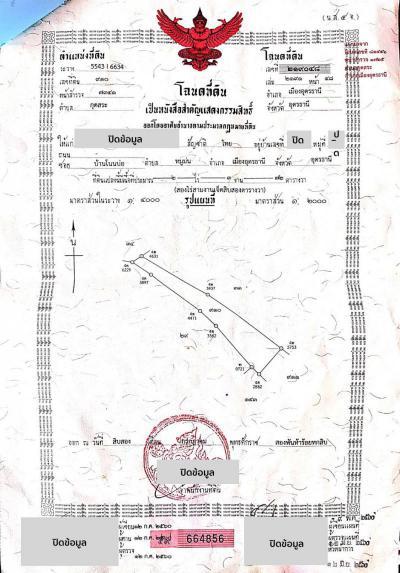 ที่ดิน 1100000 อุดรธานี เมืองอุดรธานี กุดสระ